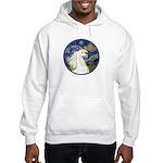 Starry/Arabian horse (w) Hooded Sweatshirt