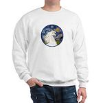 Starry/Arabian horse (w) Sweatshirt