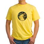 Starry/Arabian horse (w) Yellow T-Shirt