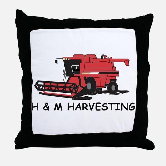 Unique Combine Throw Pillow