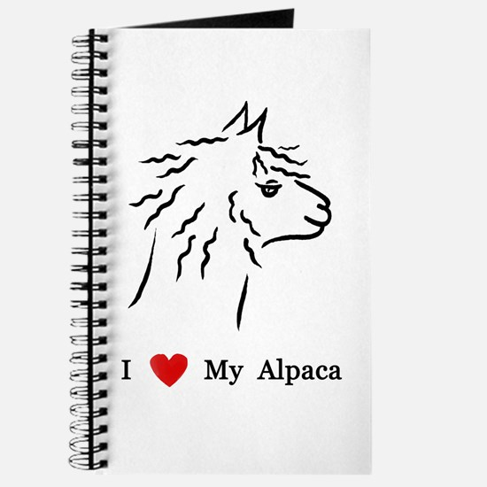 I Love My Alpaca Journal