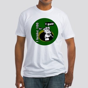 I Golf Fitted T-Shirt