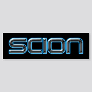 NEON Scion Bumper Sticker