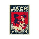 Obey The Jack Russell Terrier! Magnet Magnets