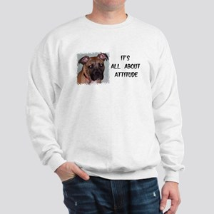 ITS ALL ABOUT ATTITUDE Sweatshirt