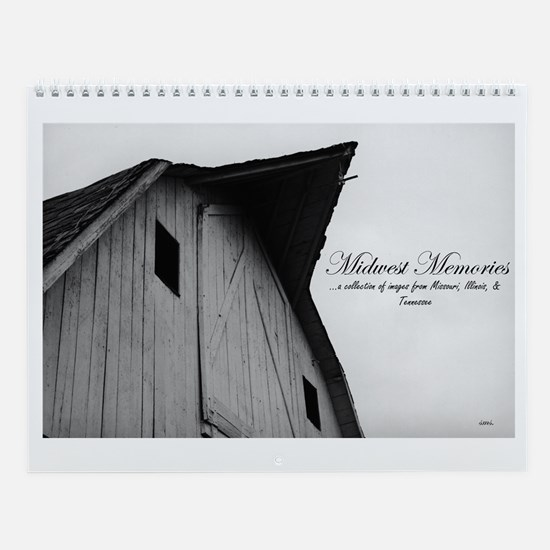 Midwest Memories Country Cale Wall Calendar