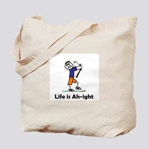 life is...golf Tote Bag