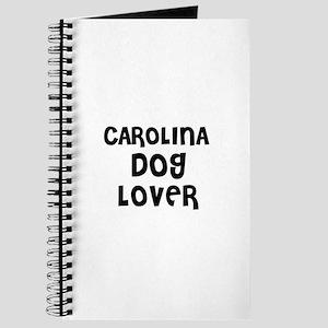 CAROLINA DOG LOVER Journal