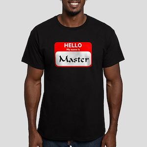 Master Men's Fitted T-Shirt (dark)