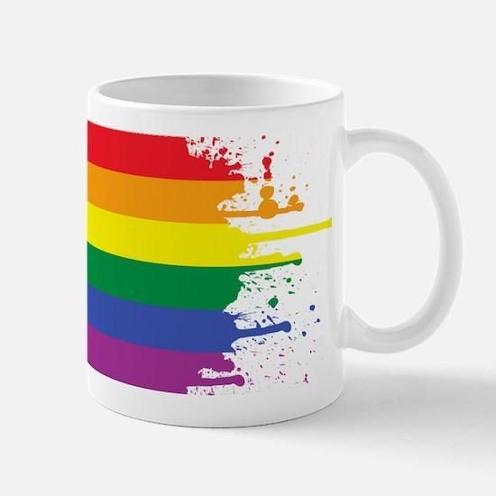 GLBT Flag (Blank) Mug