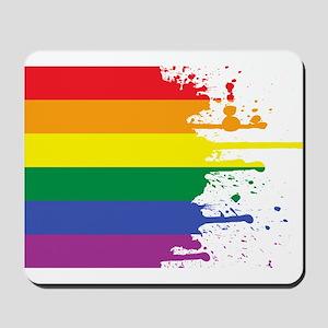 GLBT Flag (Blank) Mousepad