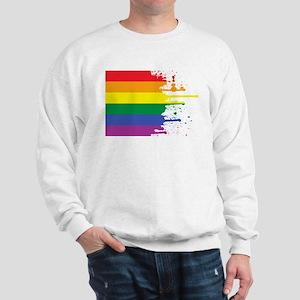 GLBT Flag (Blank) Sweatshirt