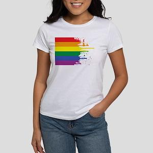 GLBT Flag (Blank) Women's T-Shirt