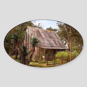 Old pioneer hut, Australia Sticker
