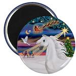 XmasMagic/Arabian Horse (W) Magnet