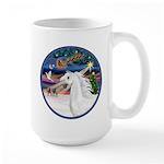 XmasMagic/Arabian Horse (W) Large Mug