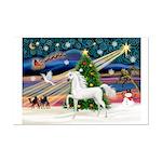 XmasMagic/Arabian Horse (W) Mini Poster Print