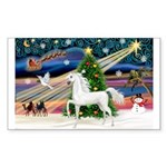 XmasMagic/Arabian Horse (W) Rectangle Sticker 10