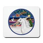XmasMagic/Arabian Horse (W) Mousepad