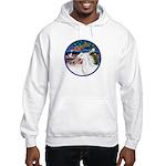 XmasMagic/Arabian Horse (W) Hooded Sweatshirt
