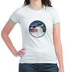 XmasMagic/Arabian Horse (W) Jr. Ringer T-Shirt