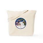 XmasMagic/Arabian Horse (W) Tote Bag