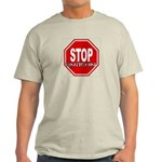 STOP SNITCHING T-Shirt - 3 NATURAL LIGHT COLORS