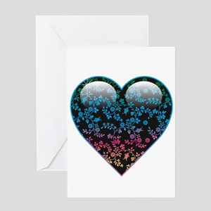 Heart (Blank) Greeting Card