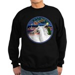 XmasMagic/Arabian Horse (W) Sweatshirt (dark)