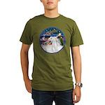 XmasMagic/Arabian Horse (W) Organic Men's T-Shirt