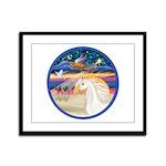 XmsStr/Horse (W2) Framed Panel Print