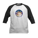 XmsStr/Horse (W2) Kids Baseball Jersey