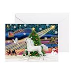 XmsMagic/Horse (Ar-W) Greeting Card