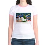 XmsMagic/Horse (Ar-W) Jr. Ringer T-Shirt