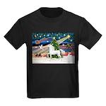 XmsMagic/Horse (Ar-W) Kids Dark T-Shirt