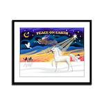 Arabian horse Framed Panel Print