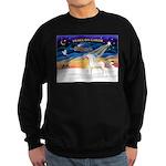 Arabian horse Sweatshirt (dark)