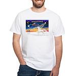Arabian horse White T-Shirt