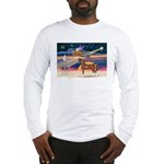 XmsStar/Horse (Ar-Br) Long Sleeve T-Shirt