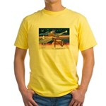 XmsStar/Horse (Ar-Br) Yellow T-Shirt
