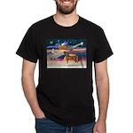 XmsStar/Horse (Ar-Br) Dark T-Shirt