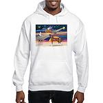 XmsStar/Horse (Ar-Br) Hooded Sweatshirt