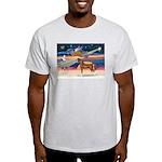 XmsStar/Horse (Ar-Br) Light T-Shirt