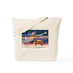 XmsStar/Horse (Ar-Br) Tote Bag