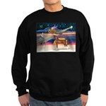 XmsStar/Horse (Ar-Br) Sweatshirt (dark)