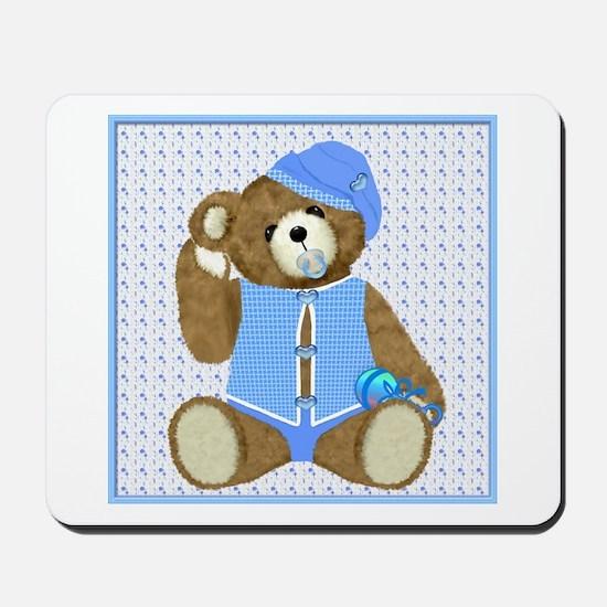 Baby Boy TeddyBear Mousepad