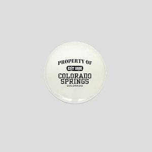 Colorado Springs Mini Button