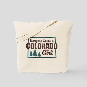 Colorado Girl Tote Bag