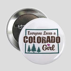 """Colorado Girl 2.25"""" Button"""