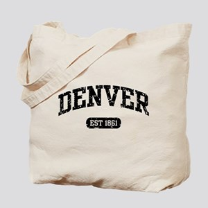 Denver Est 1861 Tote Bag